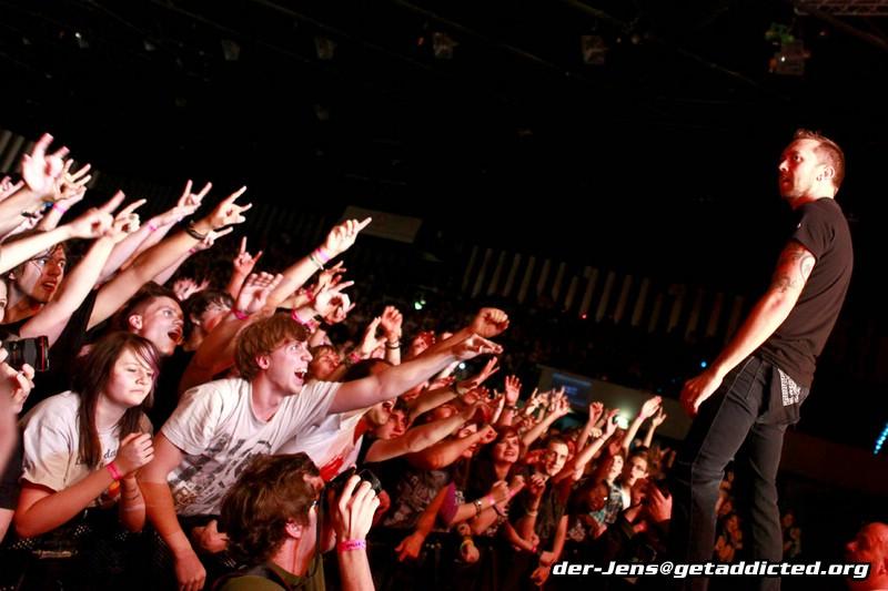 Rise Against in Düsseldorf 2011, Foto: Jens Becker