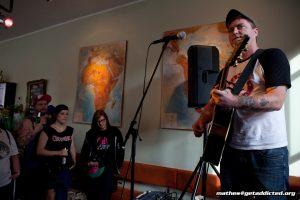 Joe McMahon unplugged in Köln, Foto: Jens Becker