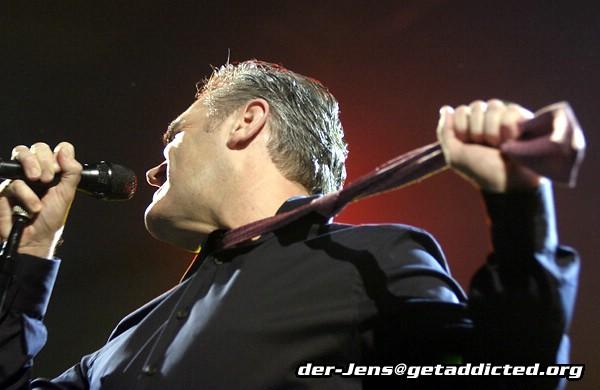 Morrissey in Düsseldorf 2006, Foto: Jens Becker