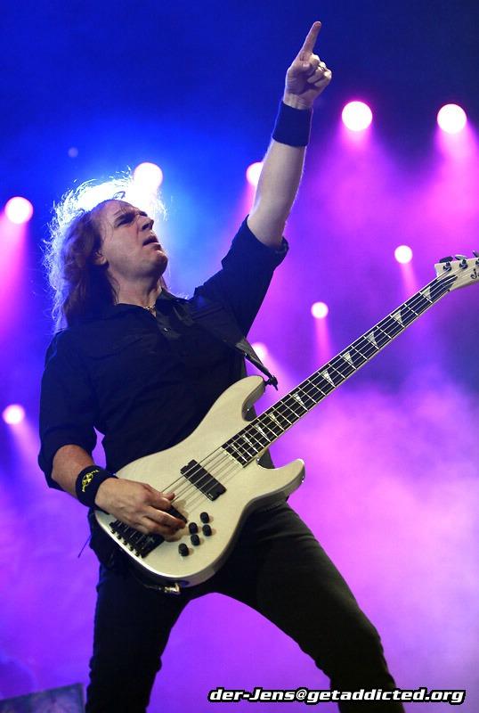 Megadeth in Gelsenkirchen 2011, Foto: Jens Becker